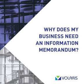 Why Does My Business Need an Investment Memorandum?